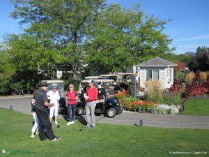 Wie gewohnt schickt uns der Course Ambassador des The Harvest Golf Course mit nützlichen Tipps auf die Runde.