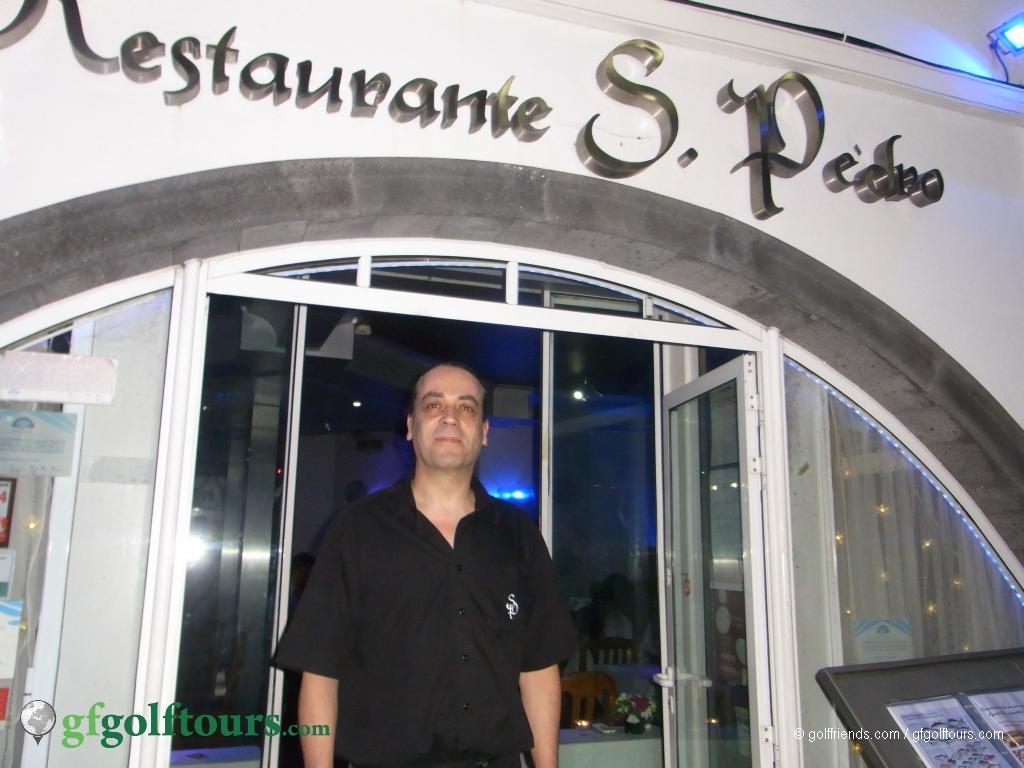 Der Inhaber des Sao Pedro