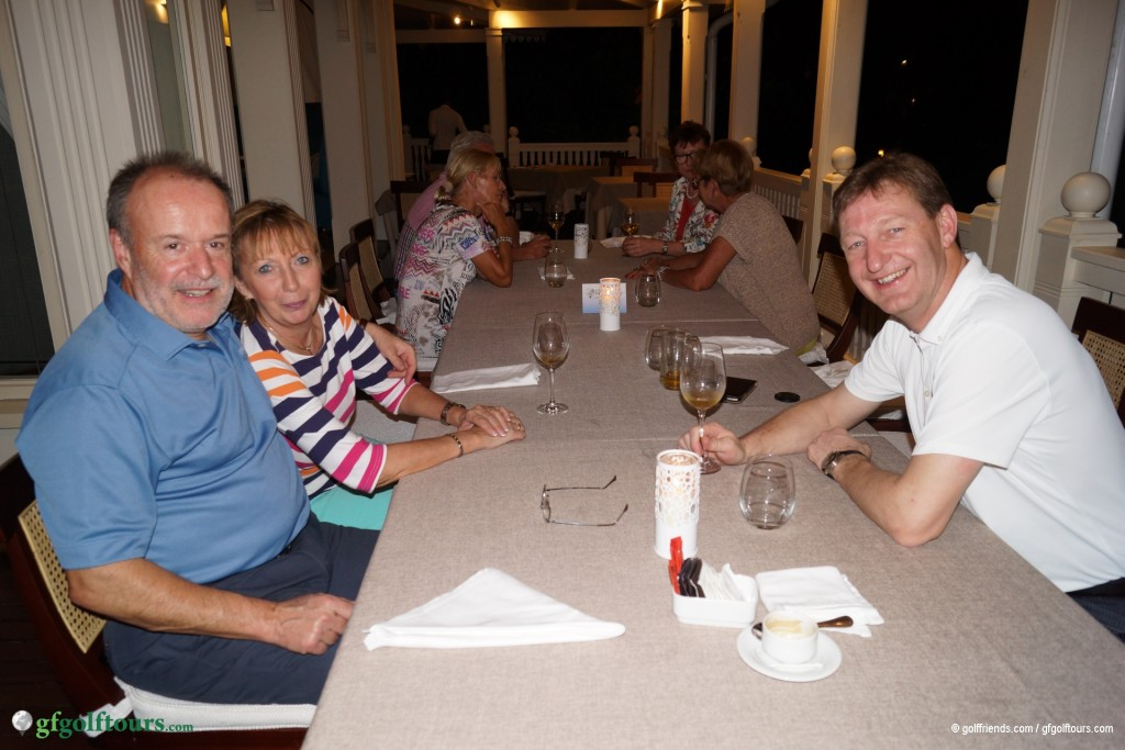 Erstes gemeinsames Abendessen auf Mauritius.