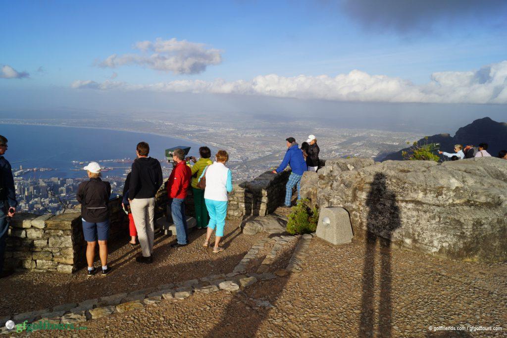 Blick vom Tafelberg.