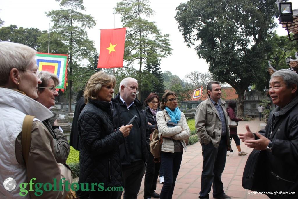 Unser erster Ausflug in Hanoi mit dem Guide Dzung
