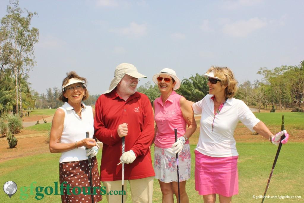 – Viel Spass beim Golfspielen...