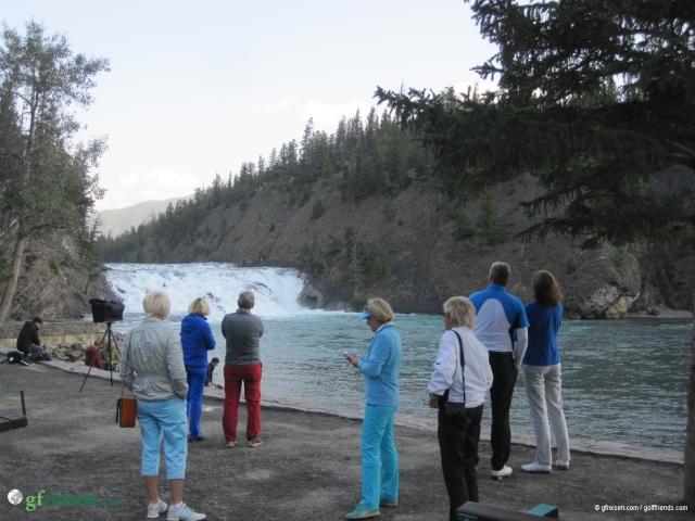 Morgenstimmung an den Bow River Falls.