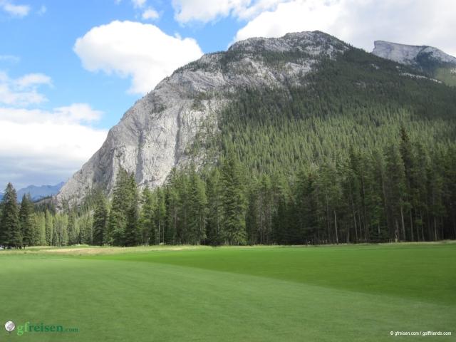 Auf dem Banff Springs Golf Course.
