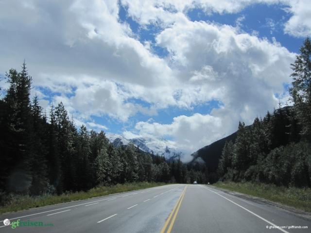 Auf der Fahrt von Banff nach Vernon.