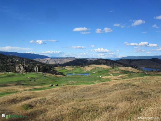 Unser Zuhause für die nächsten 4 Tage, das Predator Ridge Golf Resort.