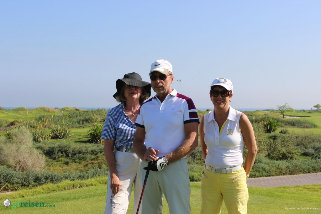 Inga, Holger und Jolanda