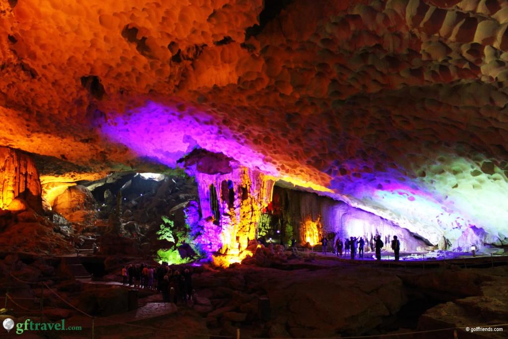 Eine wunderschöne Höhle