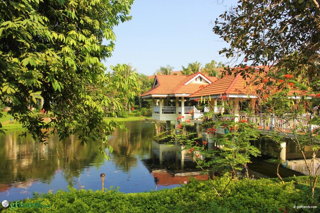 Das schöne Sofitel Hotel in Siem Reap