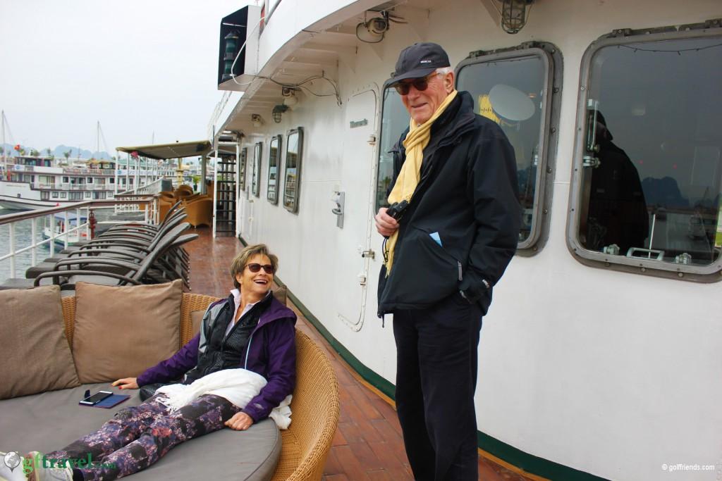 Viel Spaß auf dem Schiff