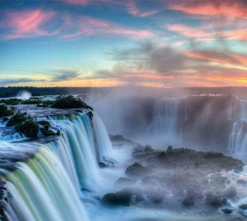 Wasserfälle Iguassu