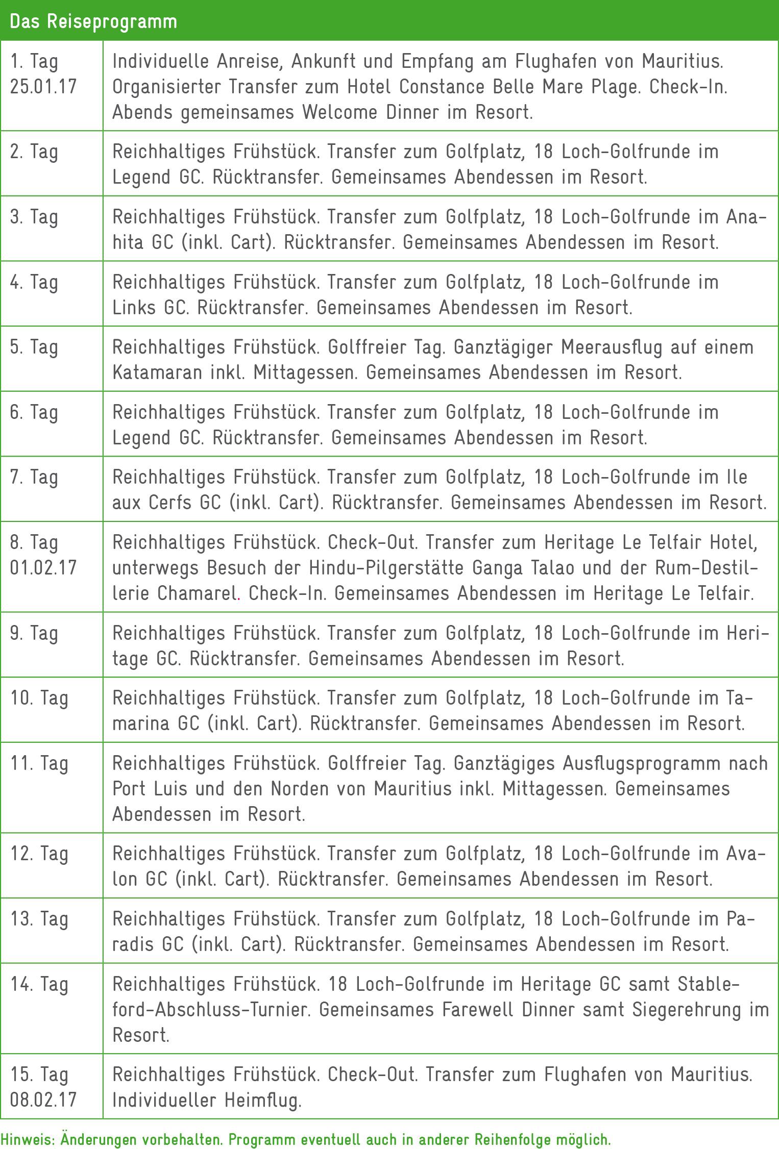 Reiseprogramm Mauritius17