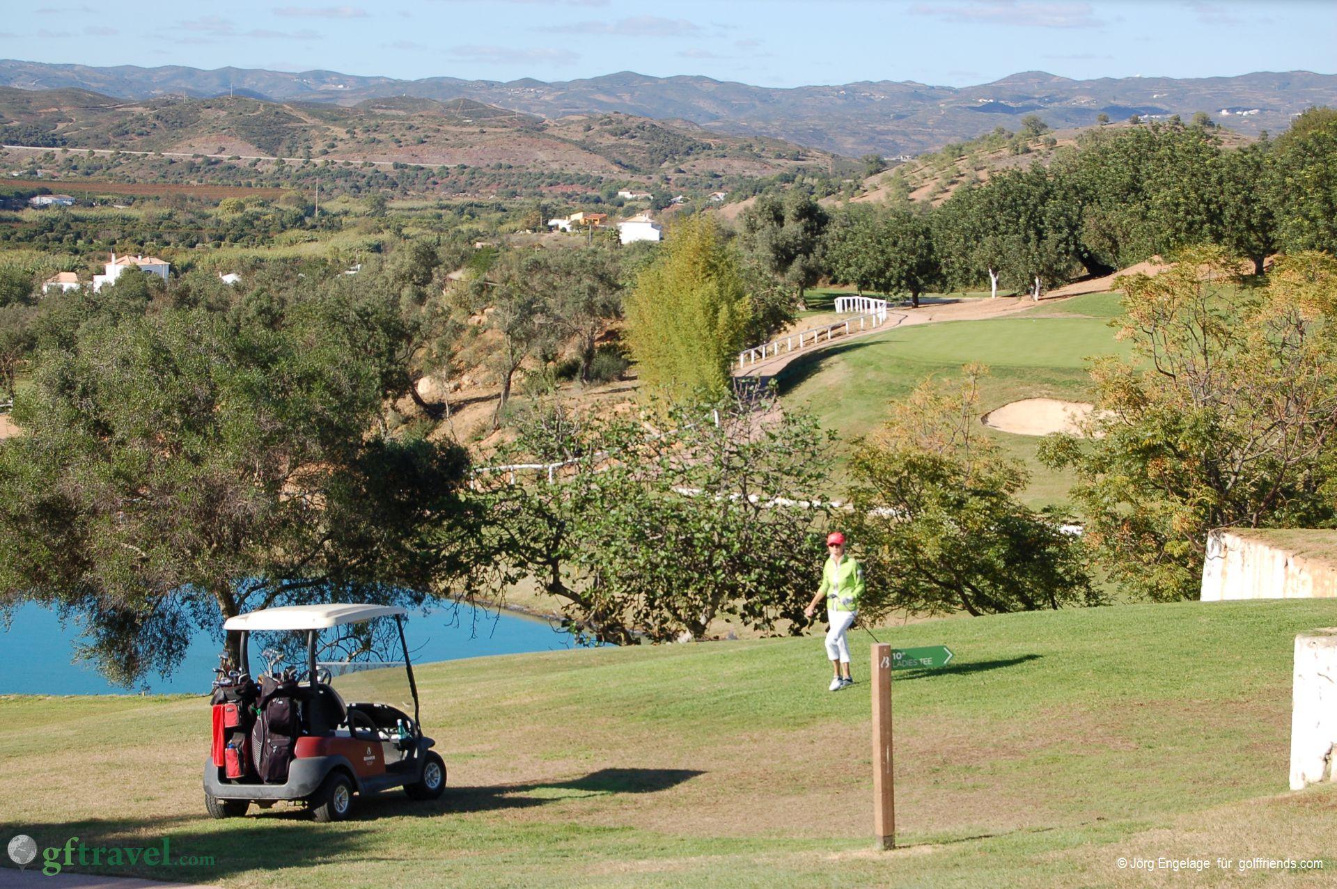 Loch 10, Golfclub Benamor
