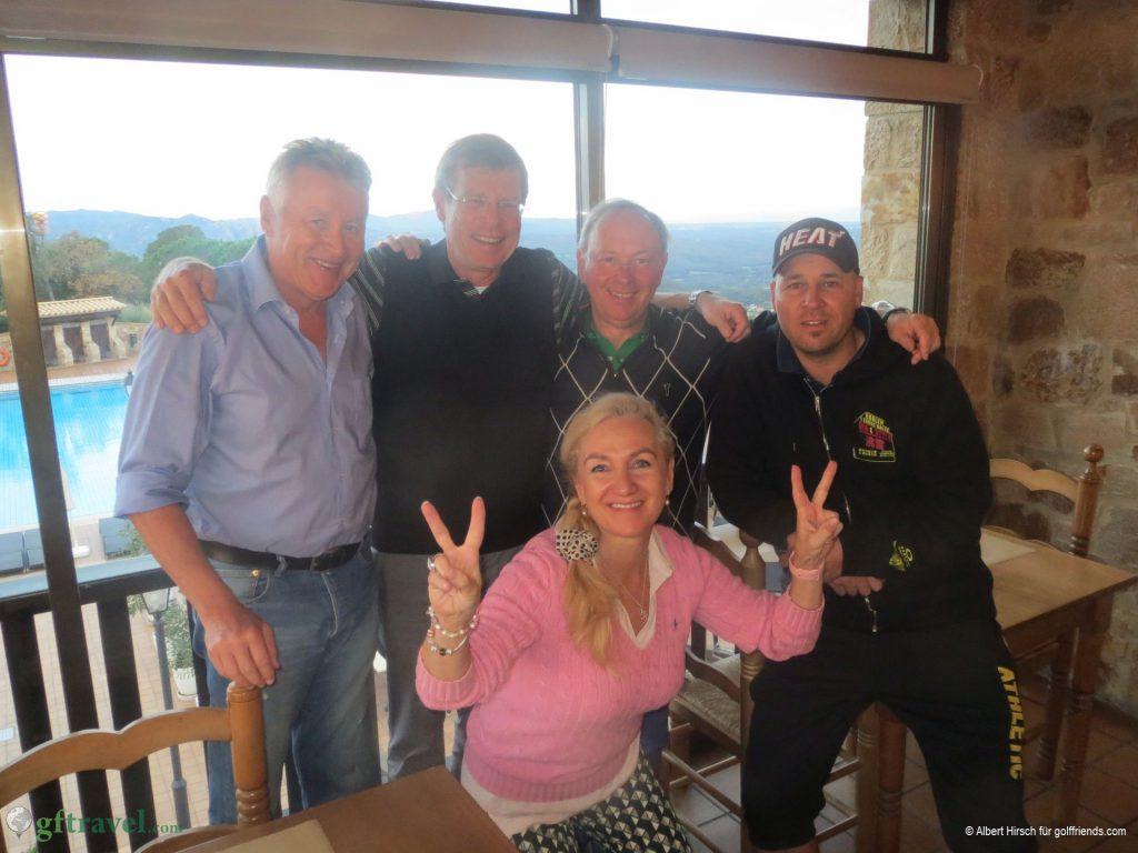 Sieger Team Blau: Manfred, Eike, Eberhard und Stefan mit Ute