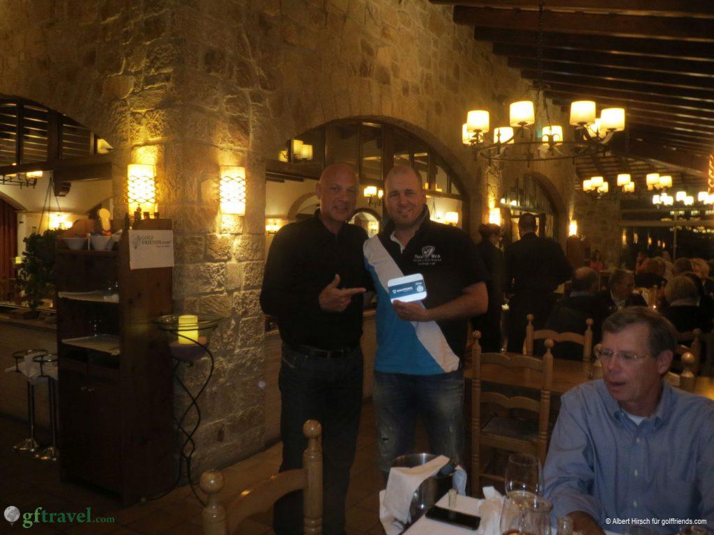 Stefan hat den 2. Netto-Preis erreicht