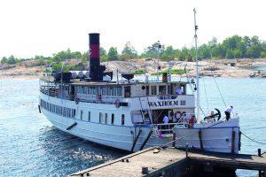 Schären-Ausflug auf historischem Schiff