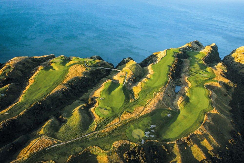 Golf-Gruppenreisen: Neuseeland (Cape Kidnappers GC)