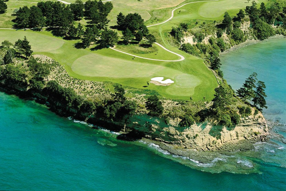Golf-Gruppenreisen: Neuseeland (Gulf Harbour Country Club)