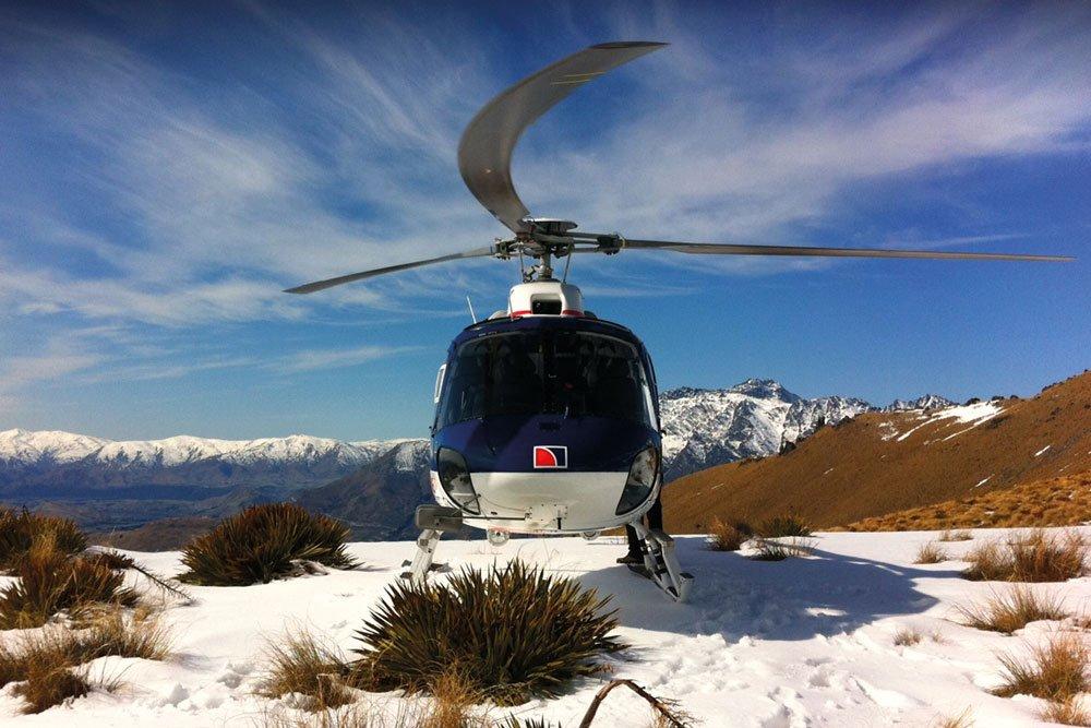Golf-Gruppenreisen: Neuseeland (Helikopter)