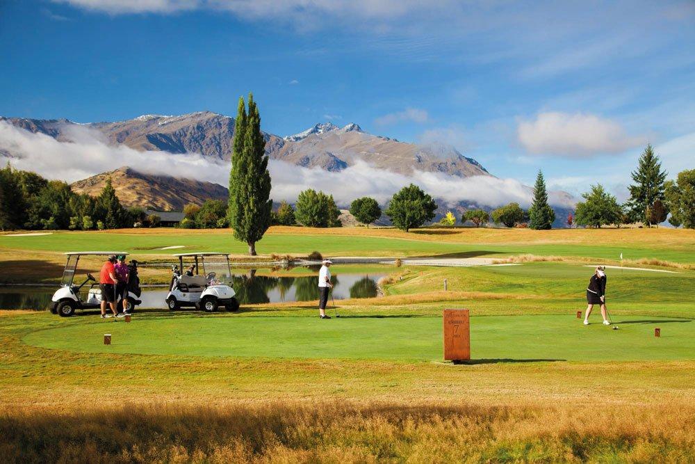 Golf-Gruppenreisen: Neuseeland (Millbrook Golf Course)