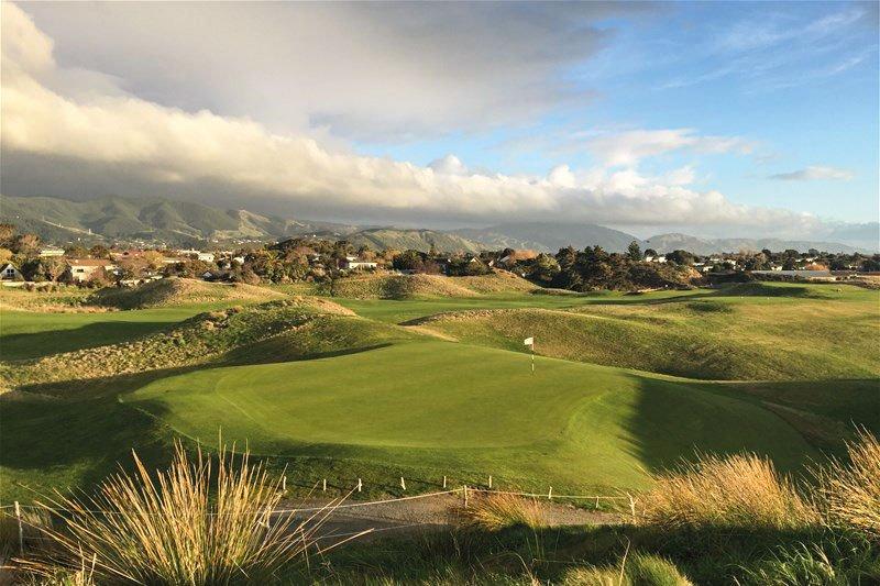 Golf-Gruppenreisen: Neuseeland (Paraparaumu Beach Golf Club)
