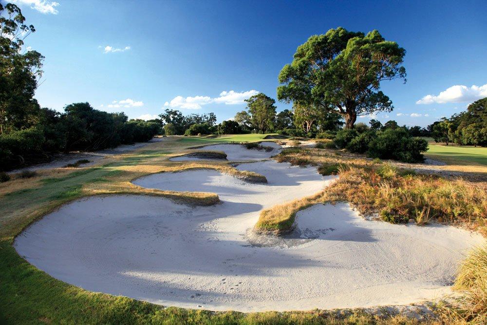Golf-Gruppenreisen: Australien & Tasmanien (Kingston Heath Golf-Club)