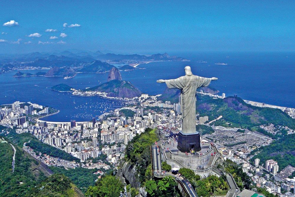 Golf-Gruppenreisen: Brasilien (Rio de Janeiro / Cristo Redentor)