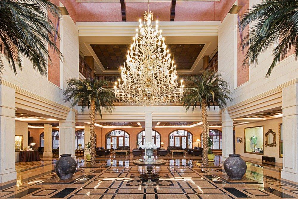 Golf-Gruppenreisen: Fuerteventura (Elba Palace Hotel Lobby)