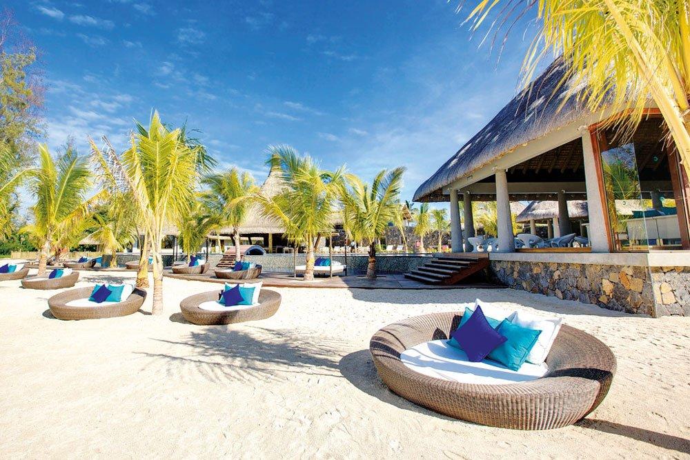 Golf-Gruppenreisen: Mauritius (Heritage Le Telfair Golf & Spa-Resort Domain de Bel Ombre, Strand)