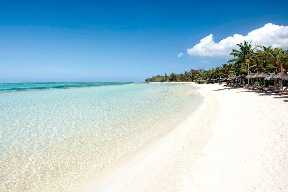 Golf-Gruppenreisen: Mauritius (Weißer Sandstrand)