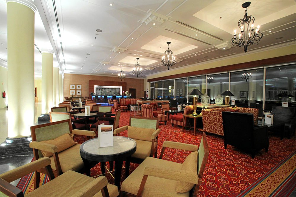 Golf-Gruppenreisen: Praia d'El Rey (Marriott Hotel Bar Lounge)