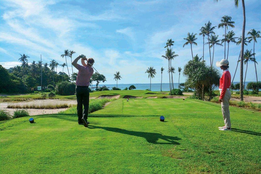 Golf-Gruppenreisen: Singapur, Bintan & Phuket (Laguna Bintan Golf Course)