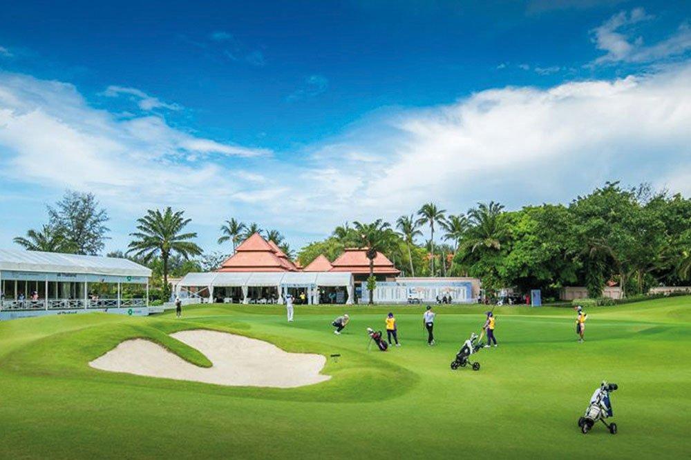 Golf-Gruppenreisen: Singapur, Bintan & Phuket (Laguna Golf Phuket Golf Club)