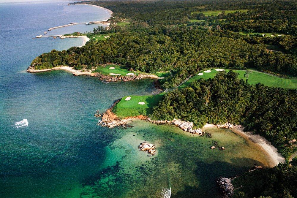 Golf-Gruppenreisen: Singapur, Bintan & Phuket (Ria Bintan Golf Course)