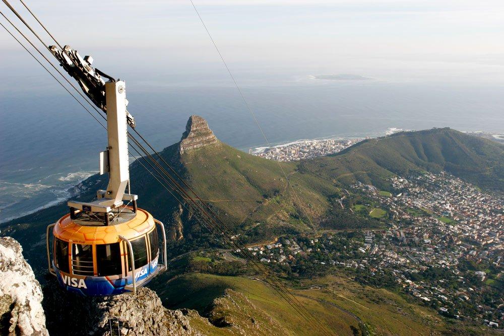 Golf-Gruppenreisen: Südafrika (Blick vom Tafelberg)