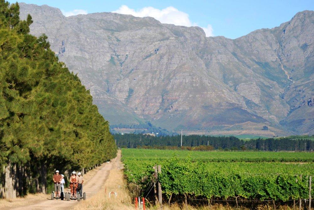 Golf-Gruppenreisen: Südafrika Golf pur (Spier Segway Vineyards)