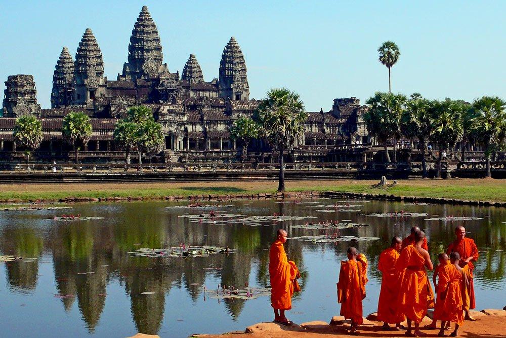 Golf-Gruppenreisen: Vietnam & Kambodscha (Angkor Wat Tempel)