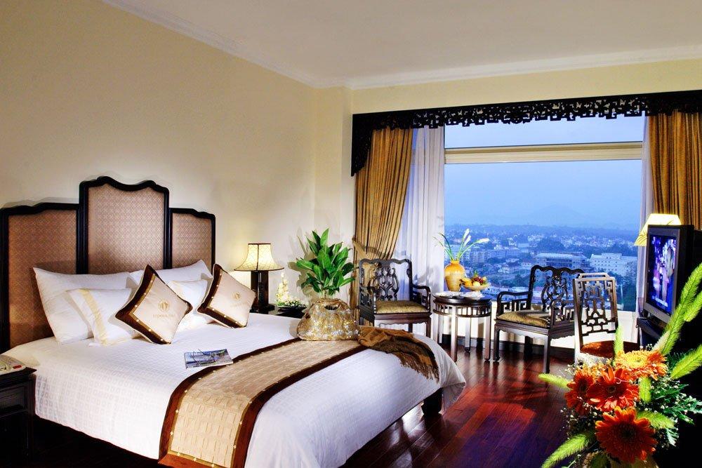 Golf-Gruppenreisen: Vietnam & Kambodscha (Hotel Imperial, Zimmer)