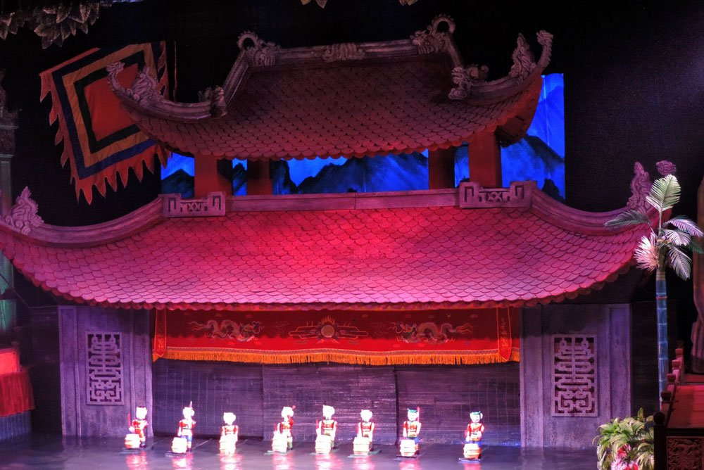 Golf-Gruppenreisen: Vietnam & Kambodscha (Wasserpuppen-Theater Hanoi)